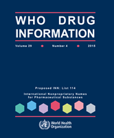 WHO Drug Information 2015