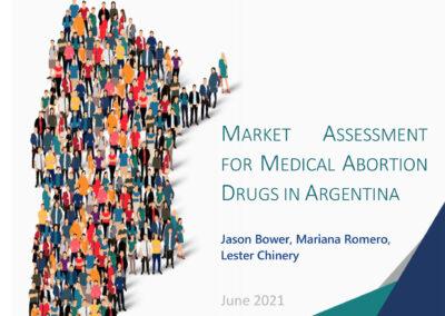 Market Assessment for Medical Abortion Drugs in Argentina